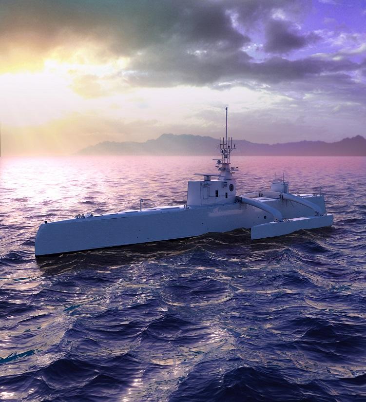 Армията на САЩ вечe има безпилотен боен кораб