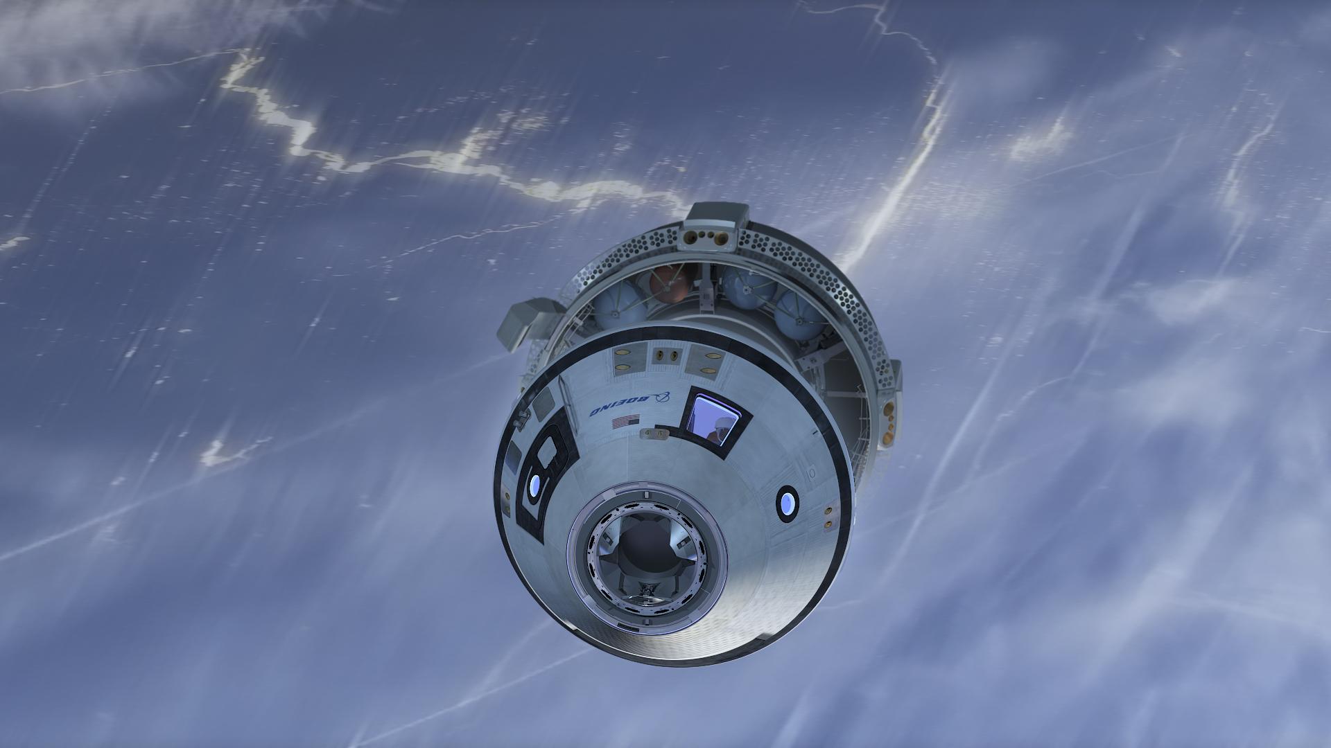 Boeing отлага старта на своя космически кораб