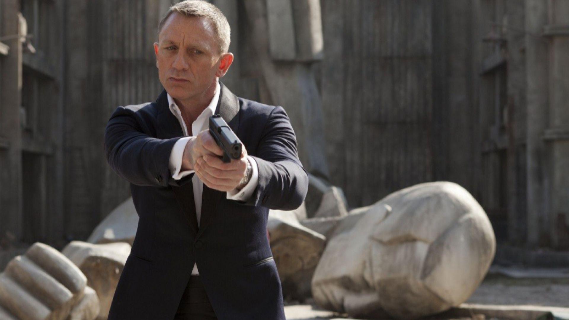 Даниел Крейг пострада при снимките на новия филм за агент 007