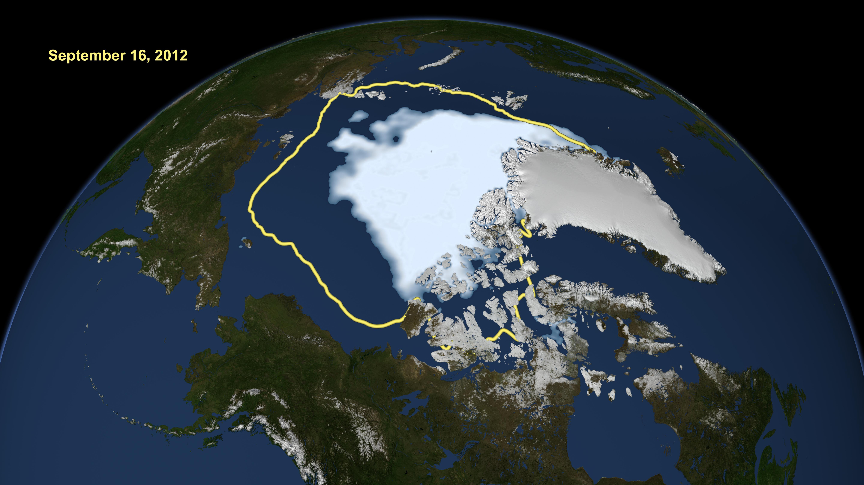 Арктически лед на 100 000 години е на път да се стопи