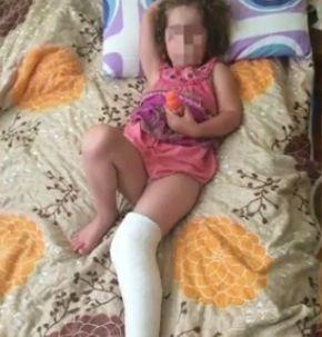 2-метрова етажерка падна върху момиченце в детска градина