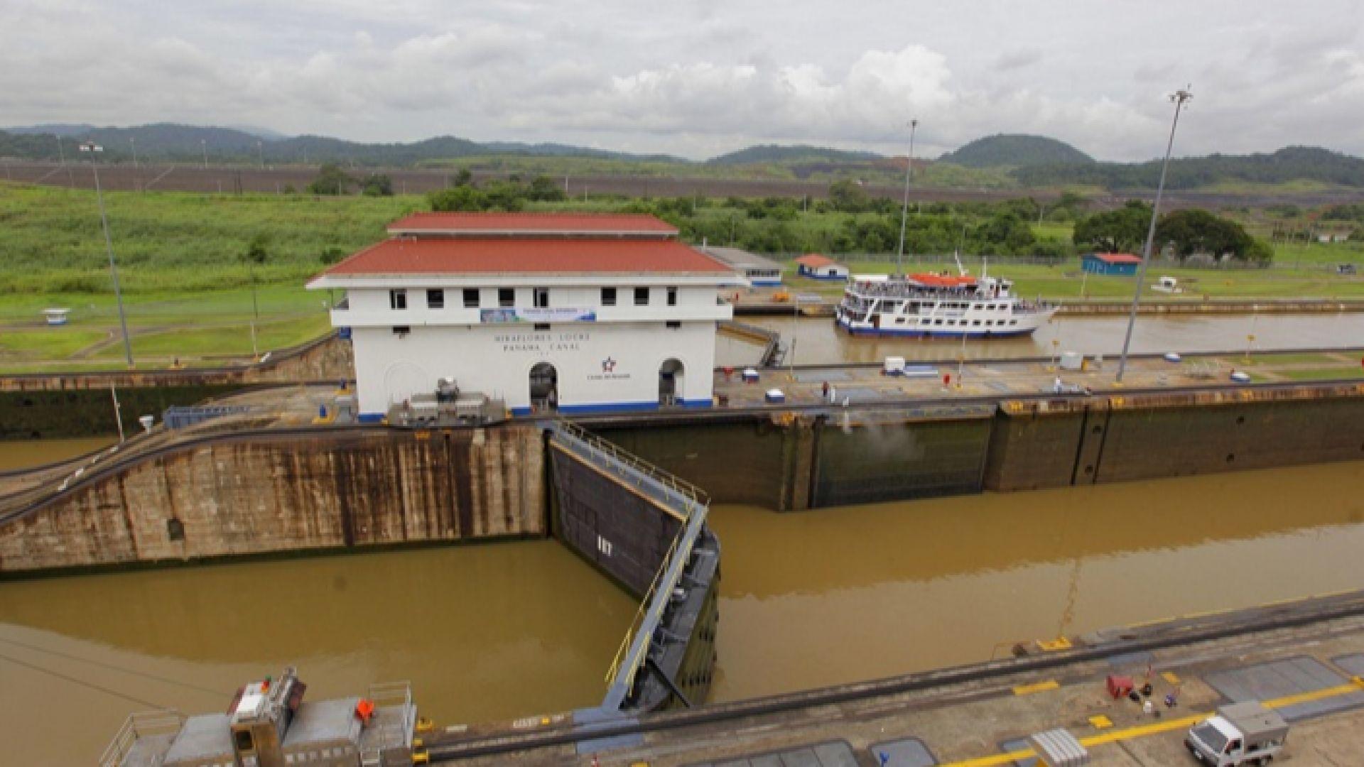 Липсата на валежи вдига таксата за корабите през Панамския канал