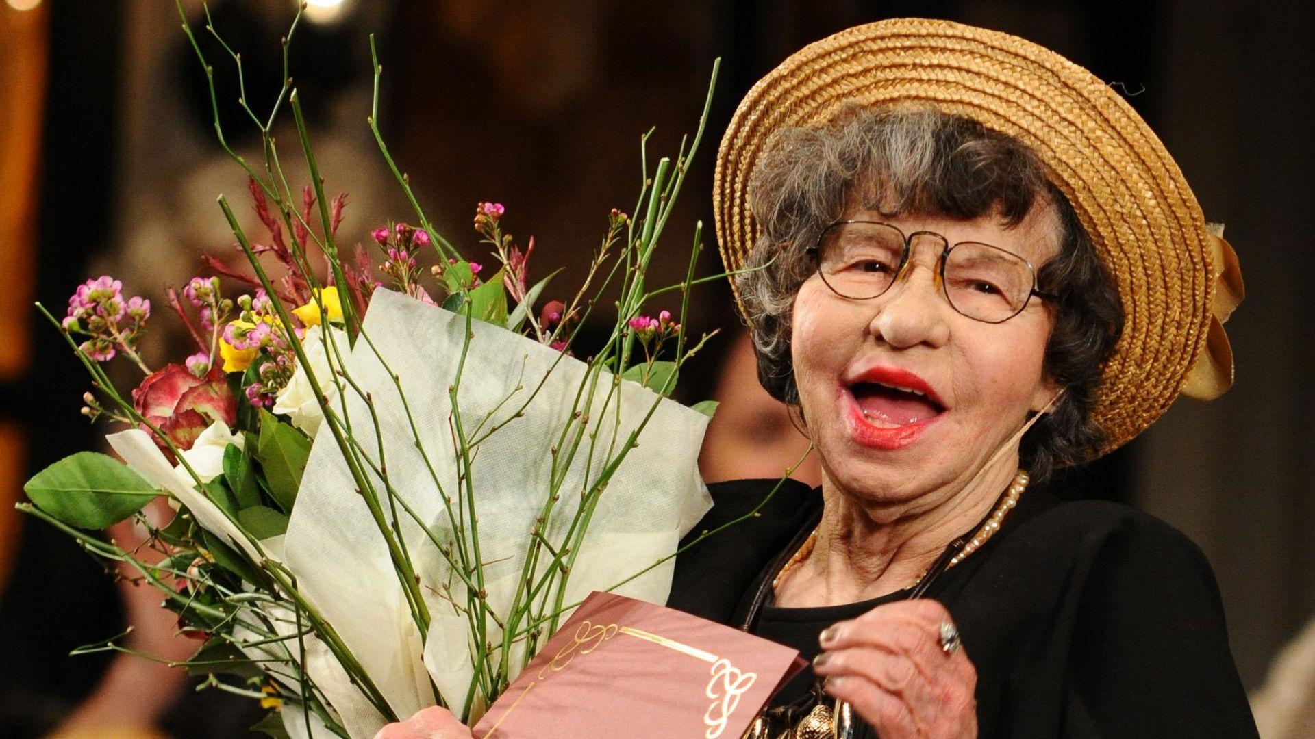 Голямата Стоянка Мутафова чества 70 години на сцена в зала 1 на НДК