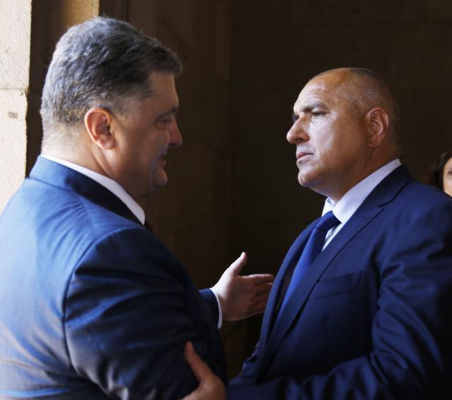 Борисов ядосан на украински закон, ще говори с Порошенко
