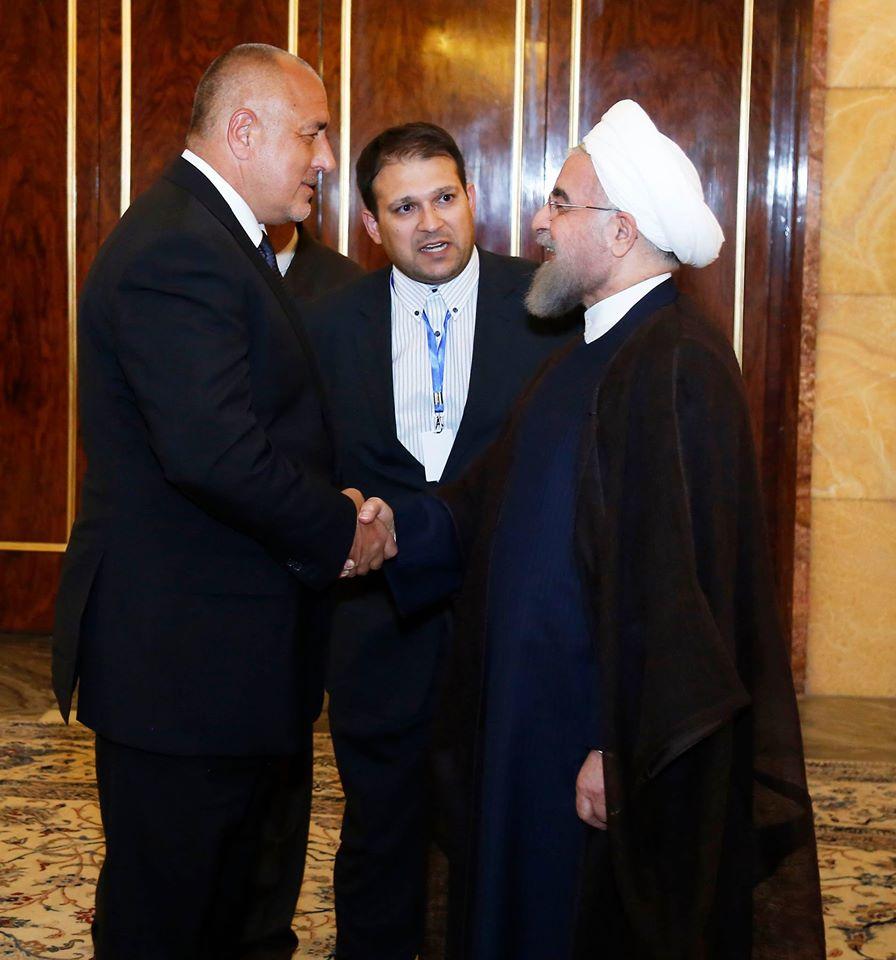 Какво пишат в Иран за визитата на Борисов