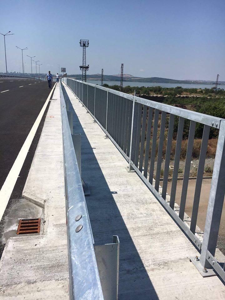 Нов пътен възел облекчава трафика до Южното Черноморие