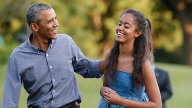 Непълнолетната дъщеря на Обама Малия хваната да пие алкохол в Маями (снимки)