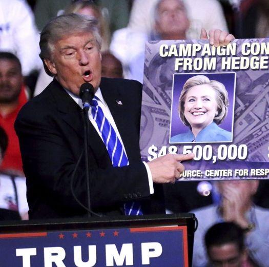 Тръмп се отказа от изказването си, че Клинтън основала ИД