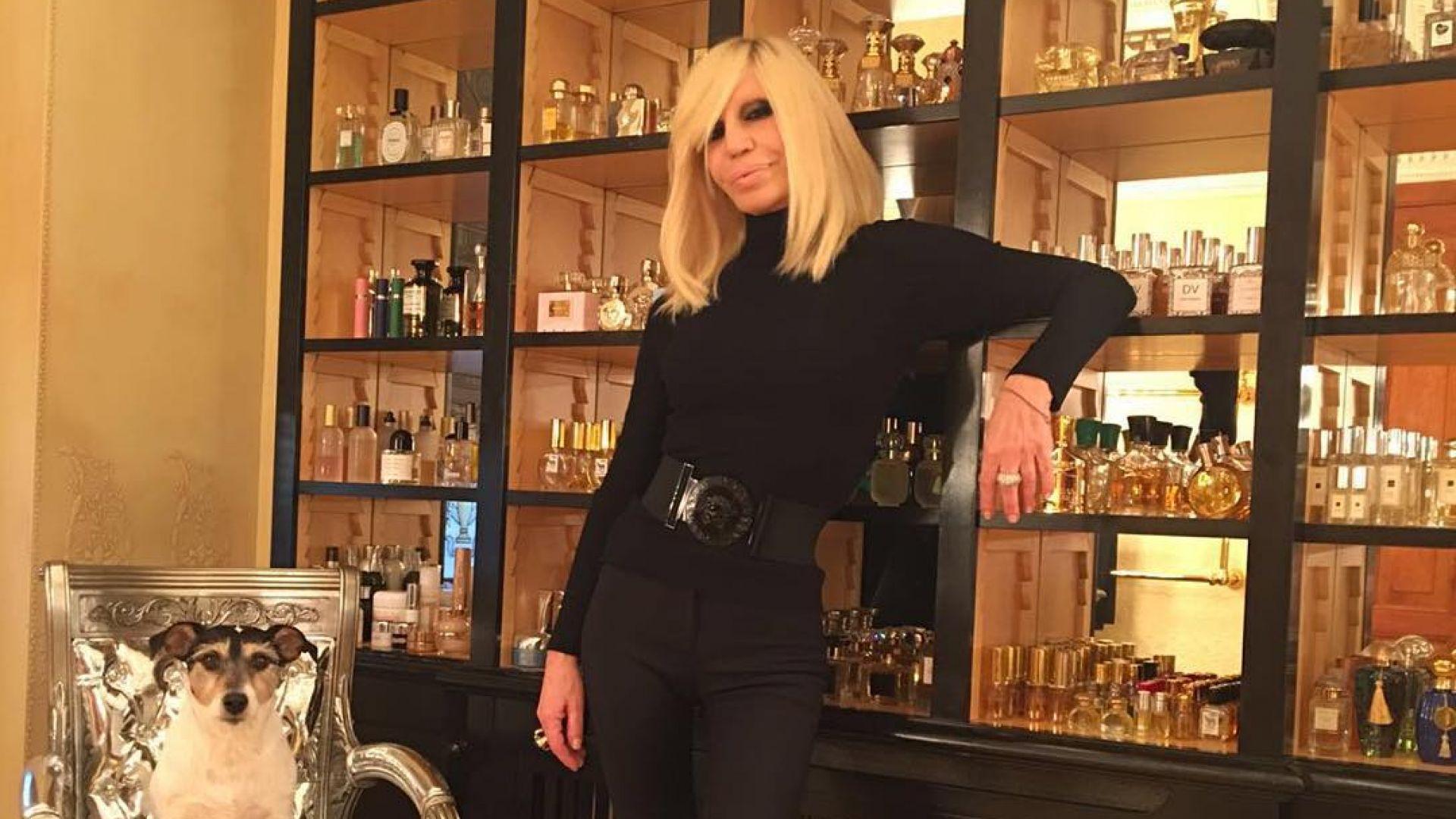 Донатела Версаче си купи вила за 5 милиона