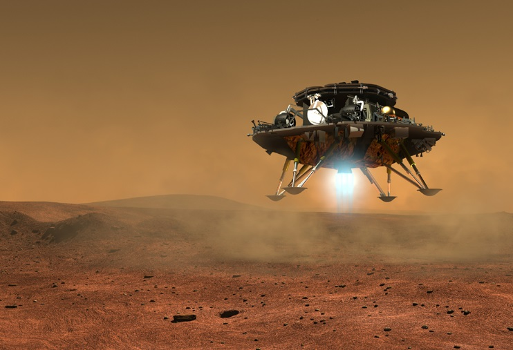 Ето как изглежда марсоходът на Китай (снимки)