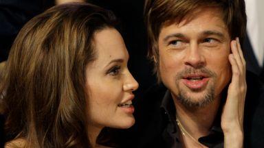 Анджелина: Историята ми с Пит не е нищо необикновено