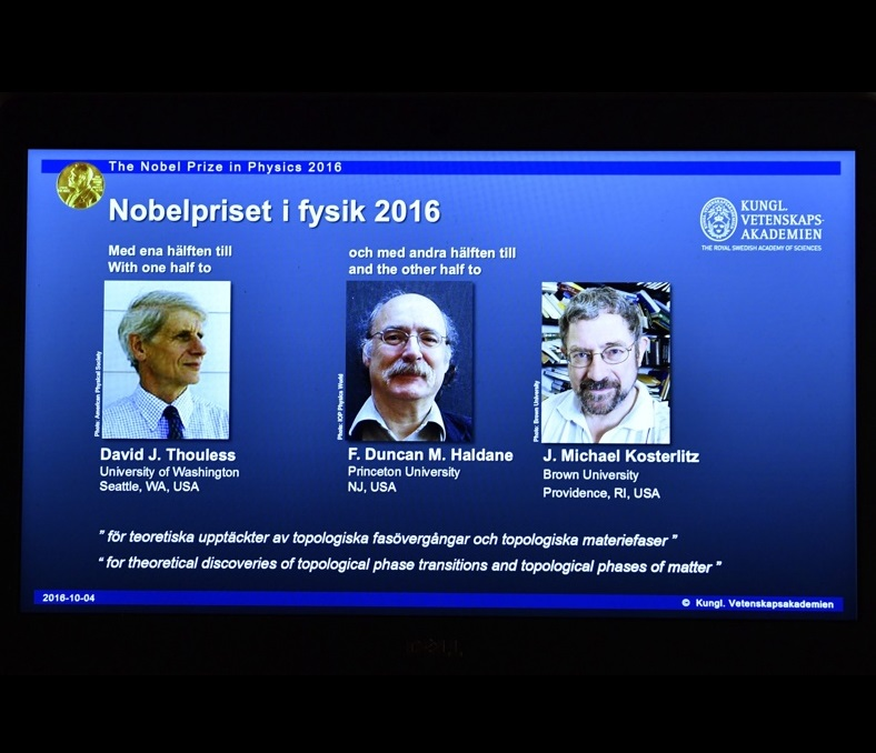 Връчиха Нобеловата награда за физика на трима учени