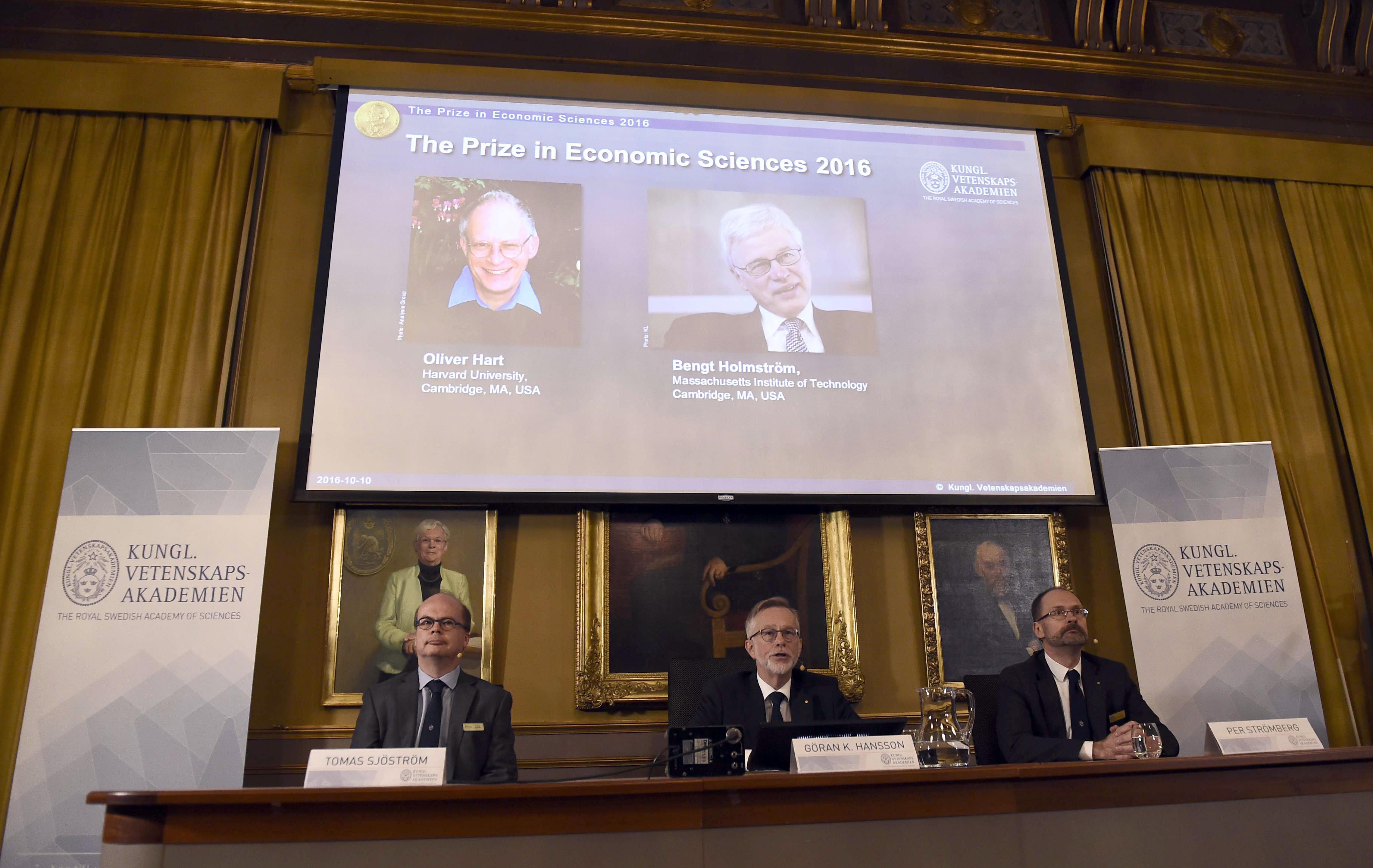 Двама вземат Нобелова награда за принос в договорната теория