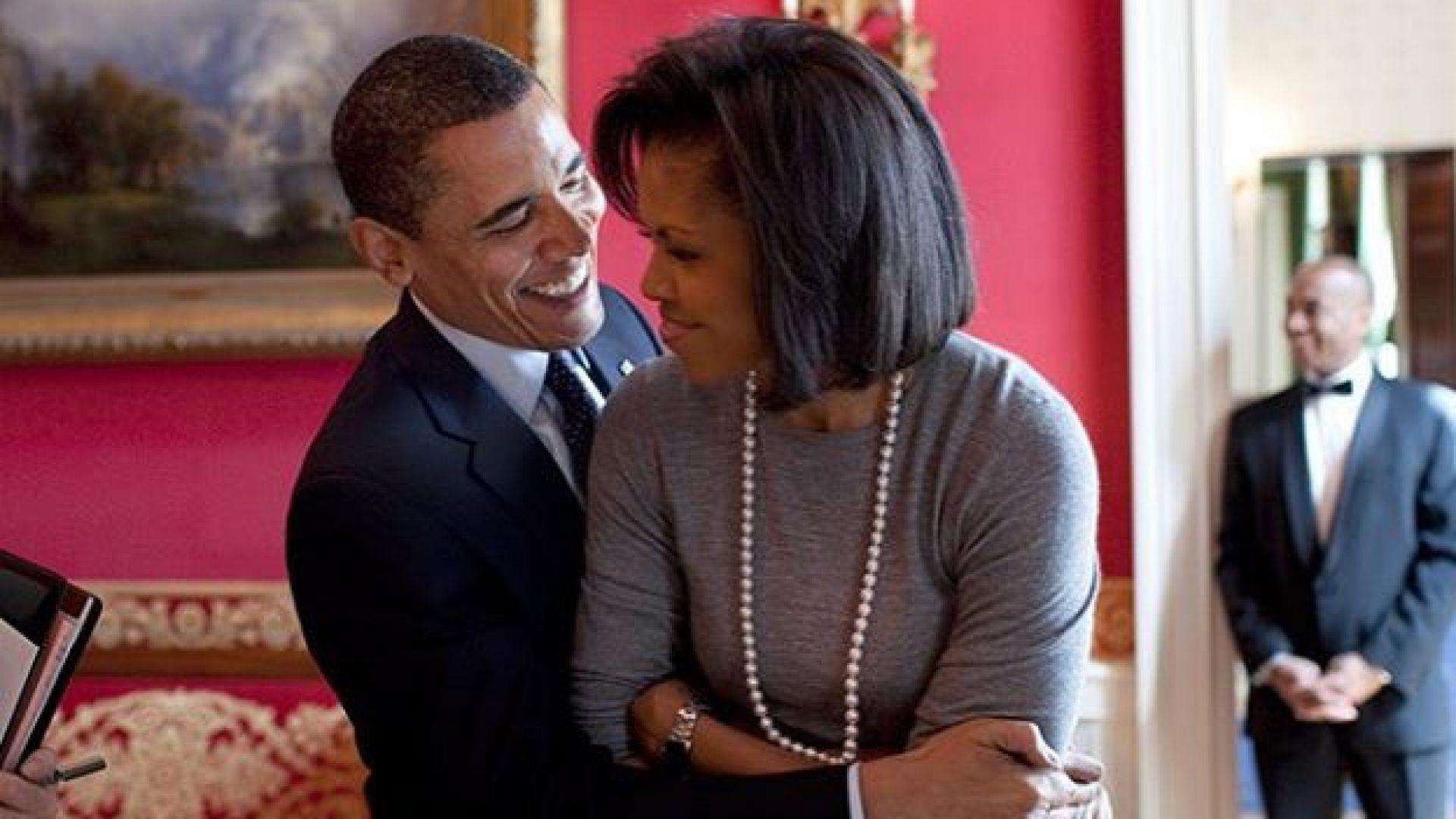Мишел за сватбата с Обама: Не спряхме да танцуваме цяла нощ
