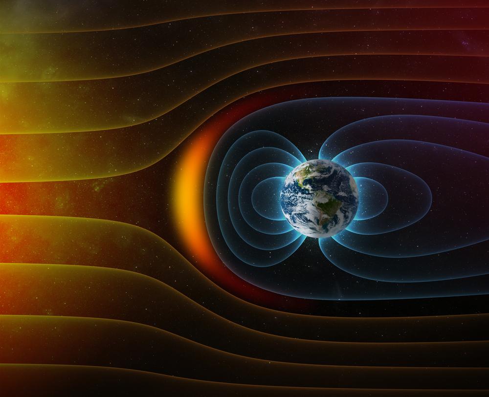 Пробив в магнитното поле на Земята
