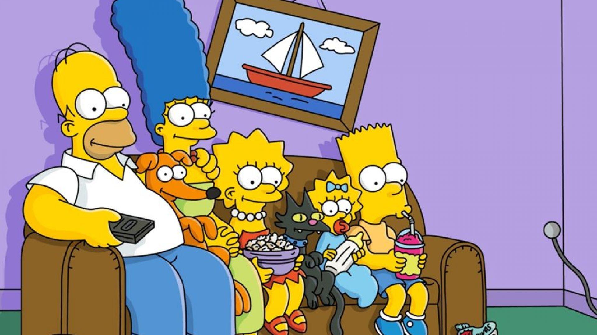 Семейство Симпсън на 30 години