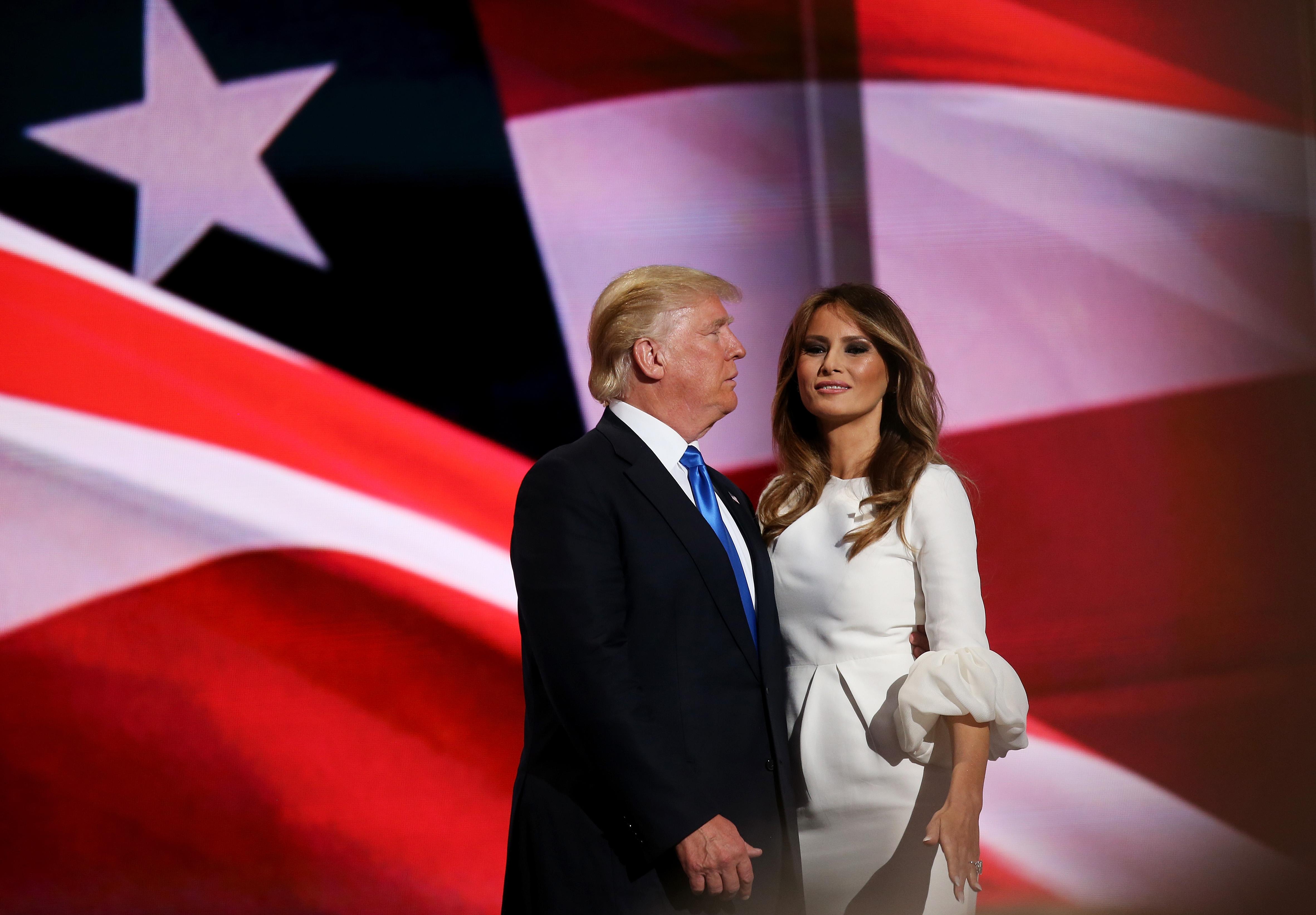 Мелания и Тръмп не се виждали с месеци