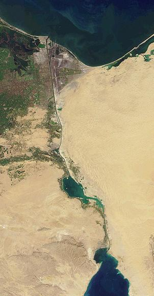 Египет започва строежа на нов тунел под Суецкия канал