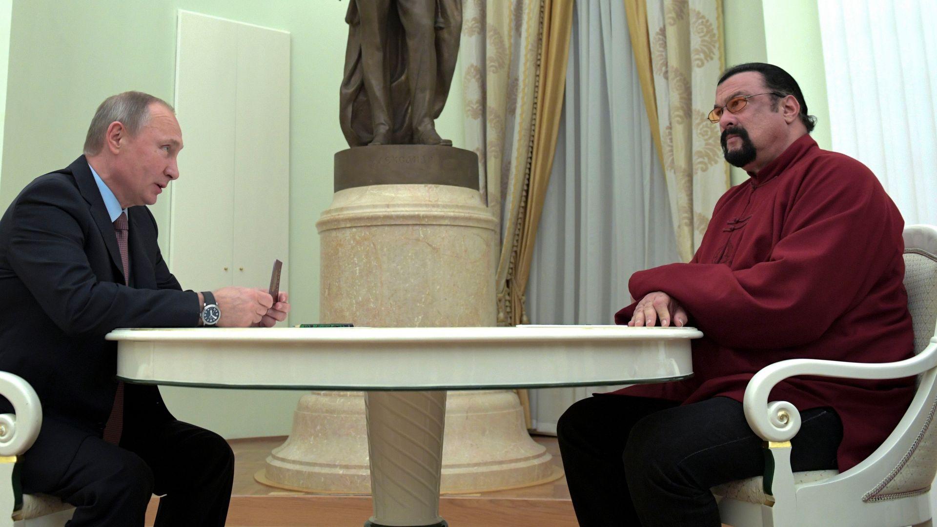 Сегал поласкан от назначението си в МВнР на Русия: Ще се боря за мир и хармония