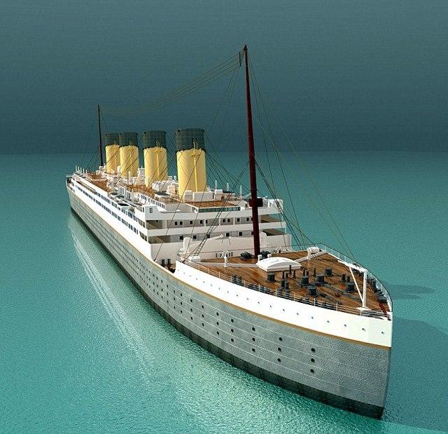 """Китайска компания строи копие на """"Титаник"""" за $145 млн."""