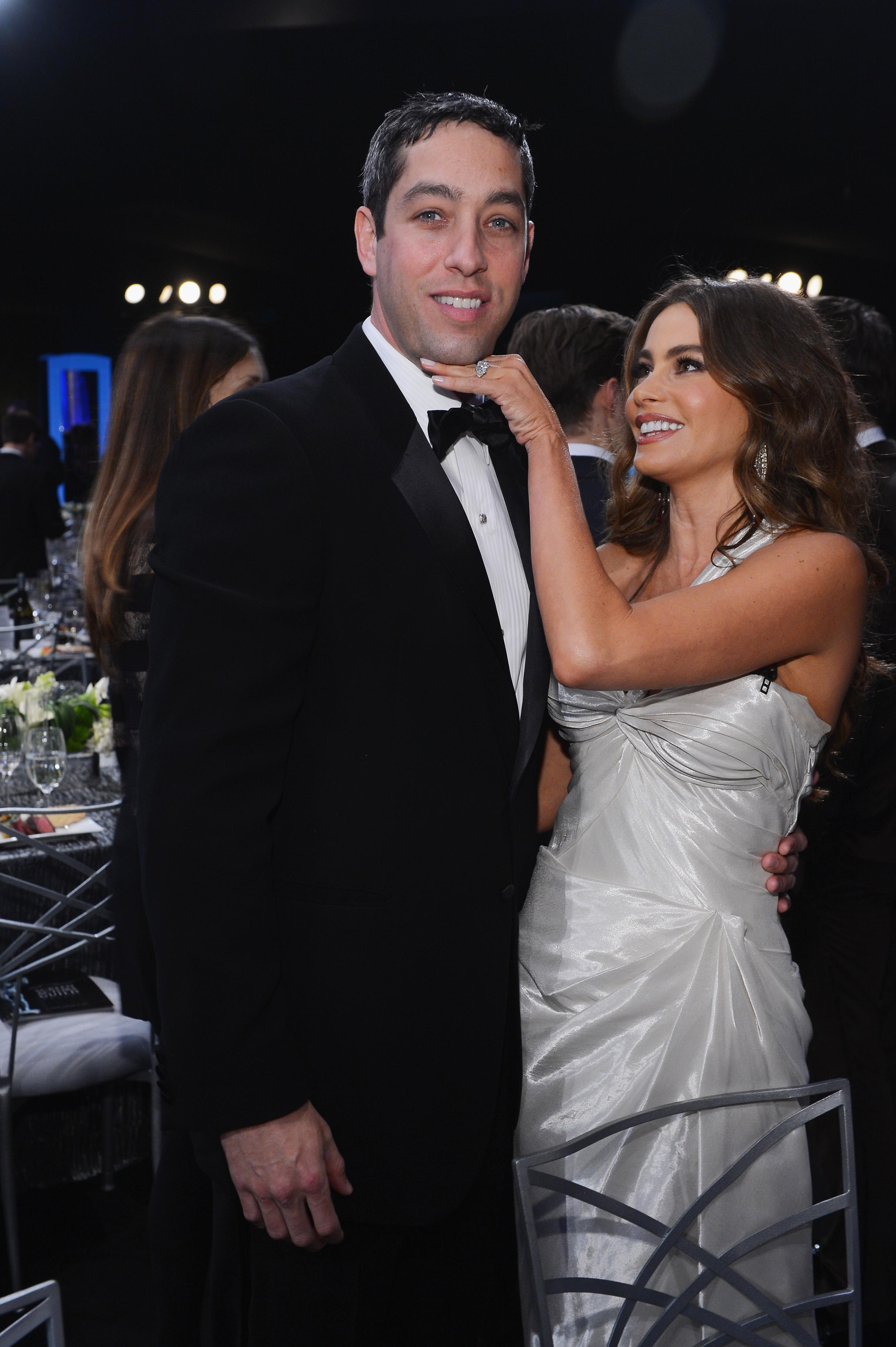 София Вергара с бившия си годеник Ник Льоб