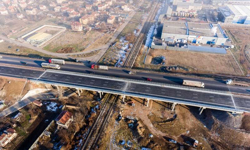 Северната дъга в София е напълно завършена