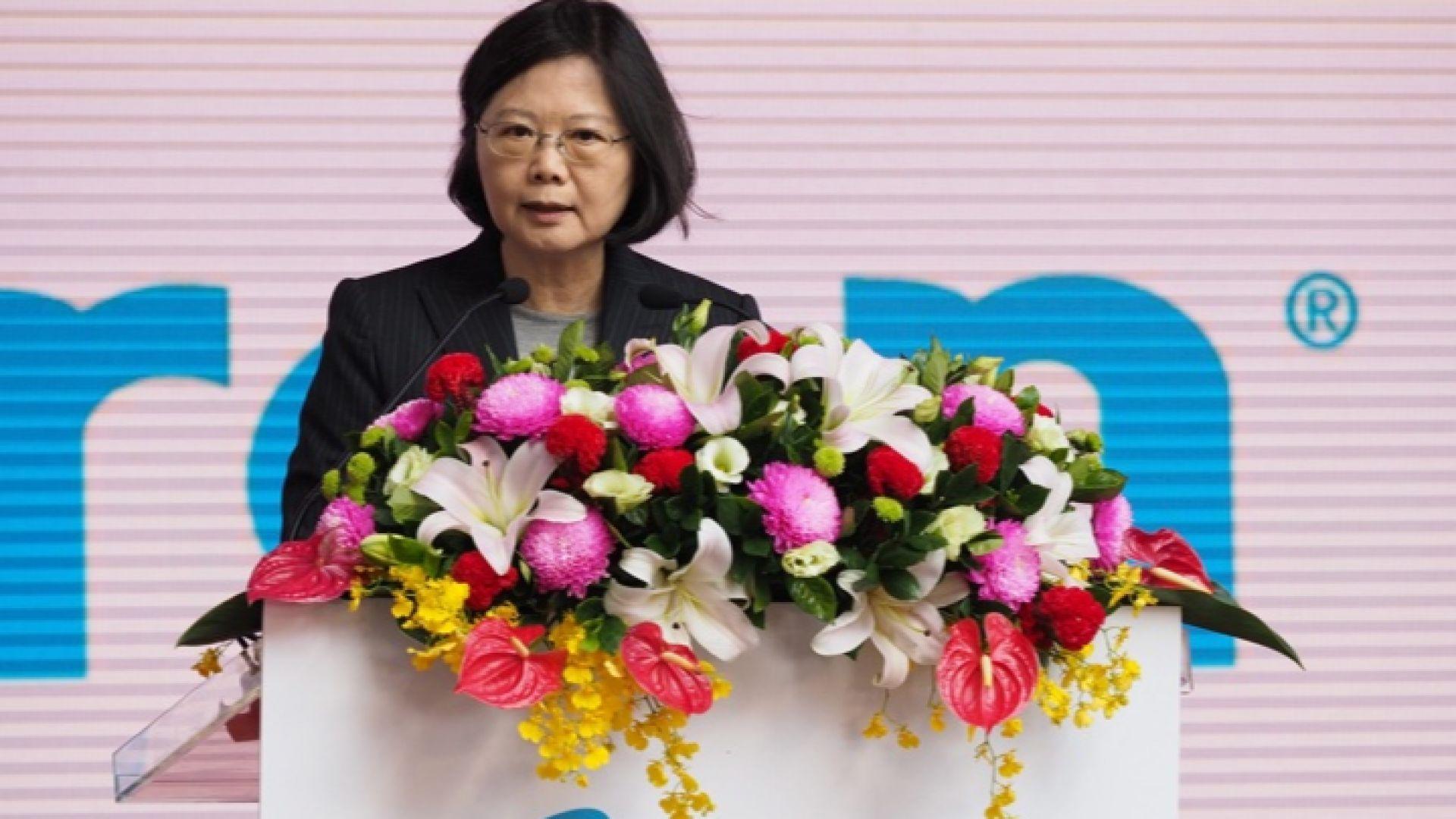 Тайван иска международна защита от Китай