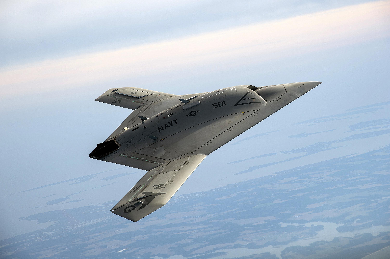 Бойни дронове готови за схватка с военни самолети