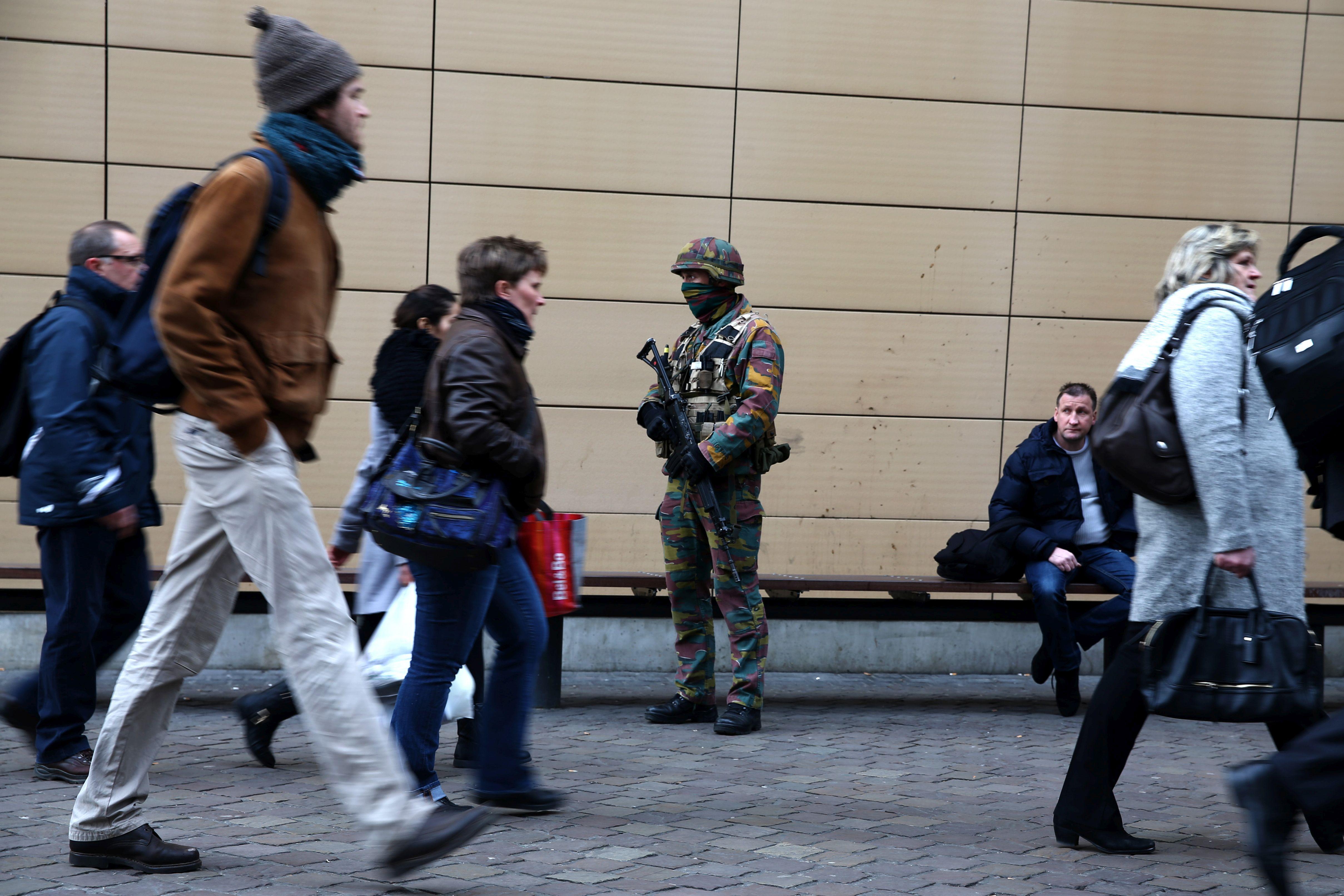 "Призив в Белгия: ""Накажи мюсюлманин"" като ""покана за игра"""