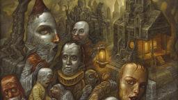 Умствените заболявания като вдъхновение - творбите на американския художник Крис Марс