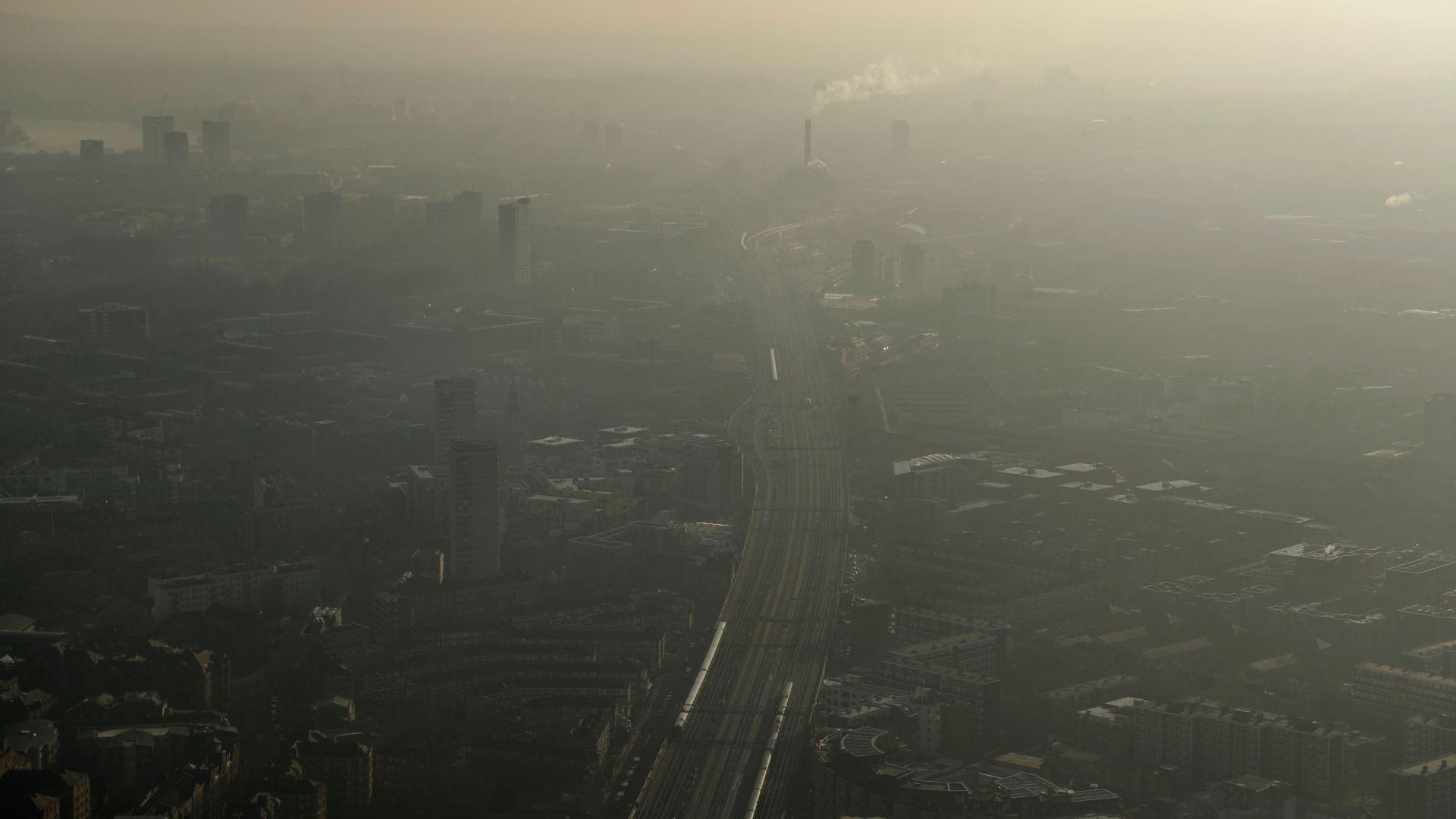 Отчетоха замърсяване на въздуха над нормите в 9 града у нас