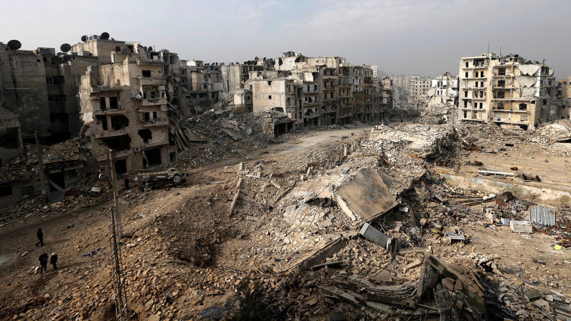 20 души са убити при взрив в Алепо