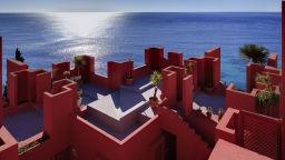 Червената стена - шедьовърът на Рикардо Бофил