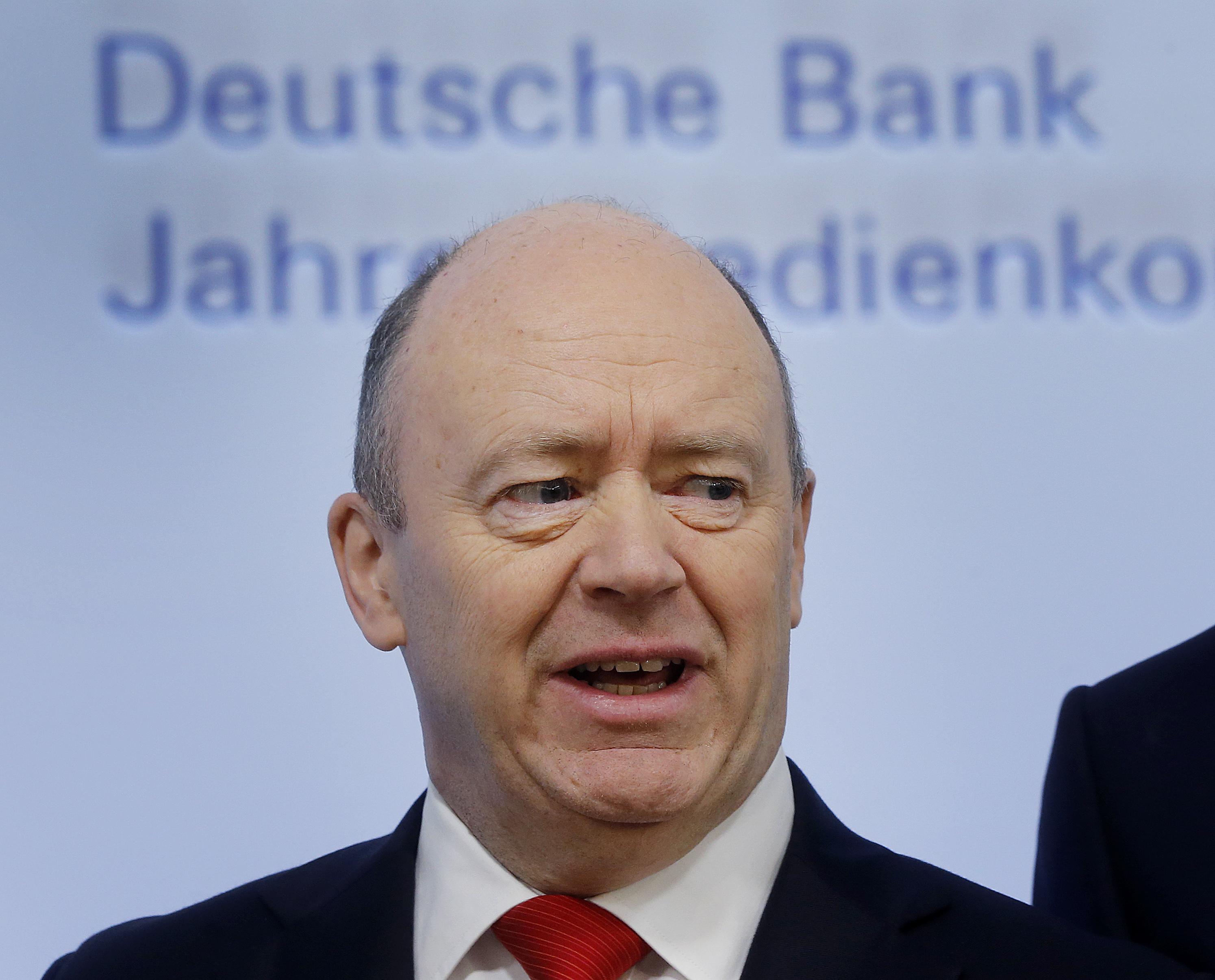 Дойче банк отстрани изпълнителния си директор