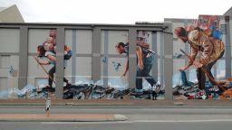 Красота, родена в мрака на нощта: Уличният вандализъм на Финтън Магий
