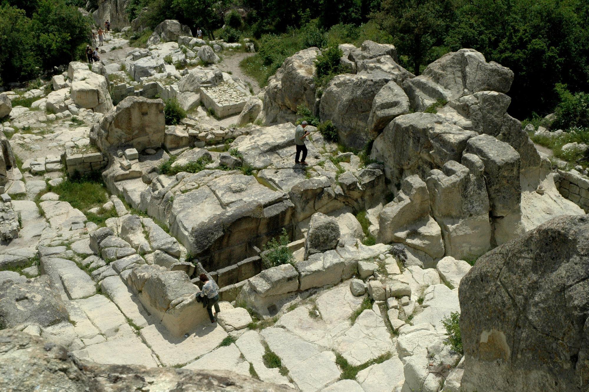 Откриха град на мъртвите на Перперикон
