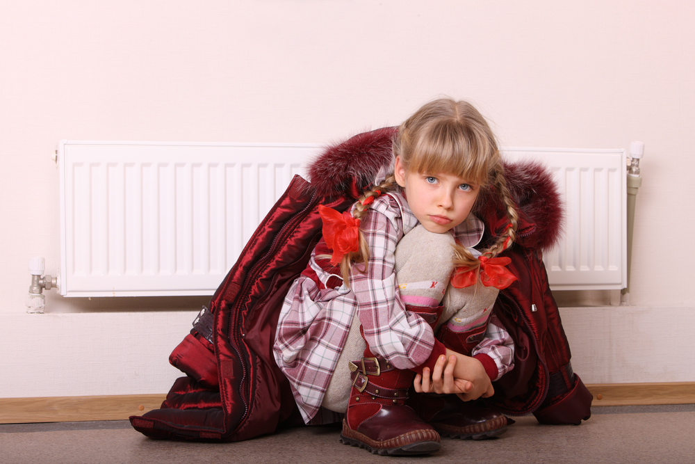Децата се стресират в студените домове