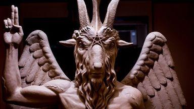 """Паметникът на Сатаната в Детройт повлича сатанинска """"монументална пандемия"""", твърдят обществени аналитици"""