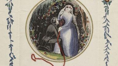 Изненада! Вижте тези смайващи валентинки отпреди 200 г.