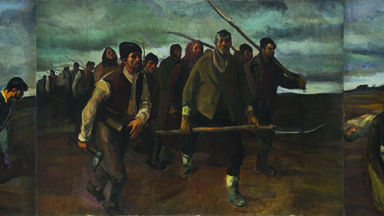 """Триптихът """"1907"""" на румънския класик Корнелиу Баба гостува в Квадрат 500"""