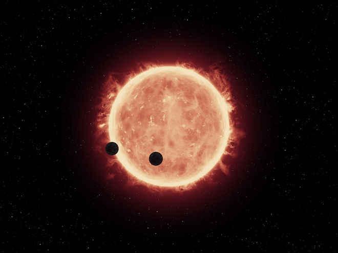 НАСА: Близка звезда има 3 подобни на Земята планети