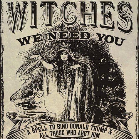 Вещици се събраха да направят магия на Тръмп