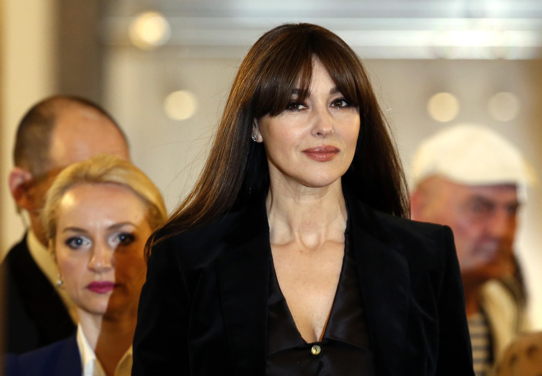 Моника Белучи потресе с реплика на сръбски за мъжете