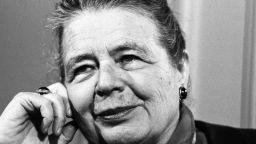 Маргьорит Юрсенар е първата жена член на Френската академия
