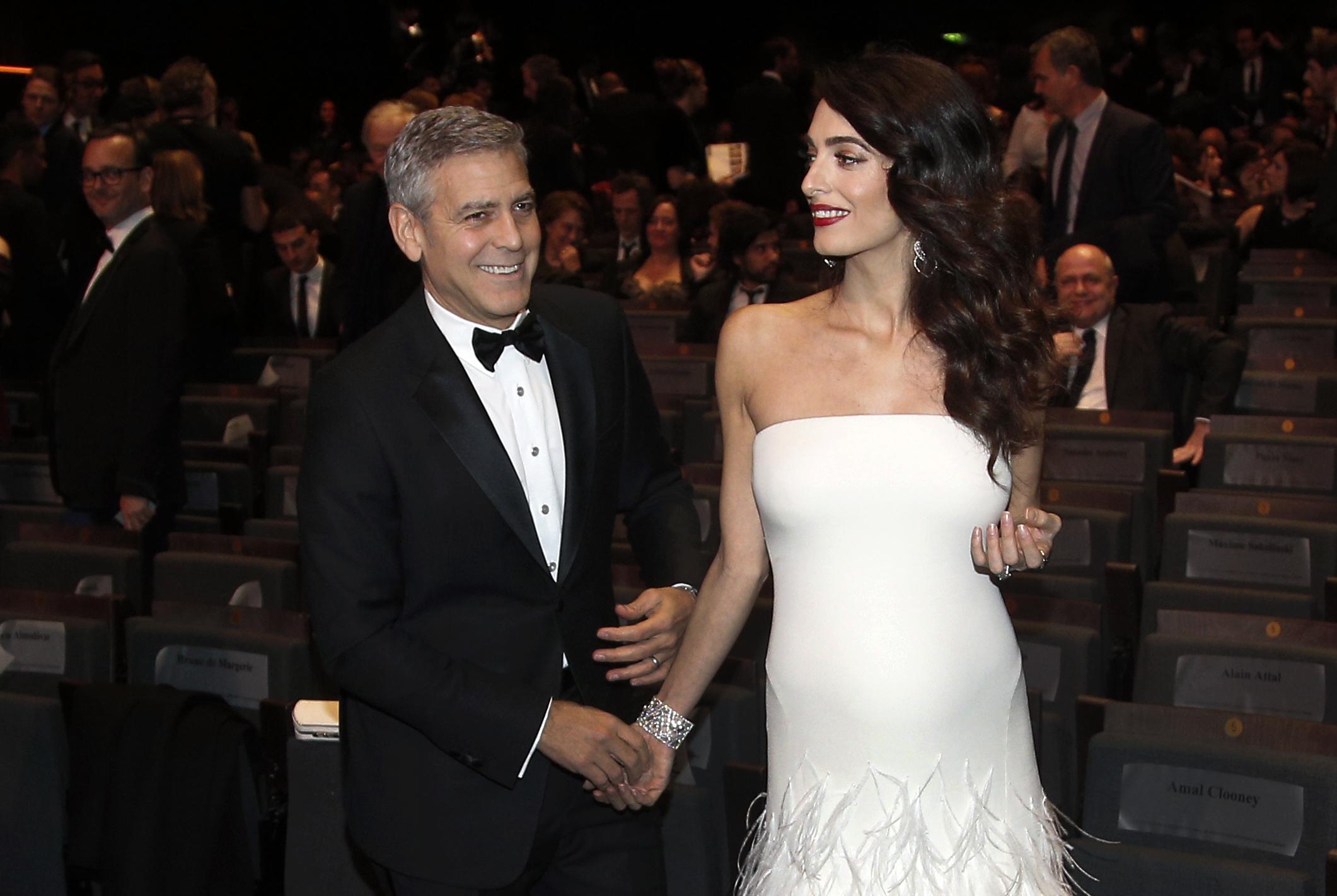 Клуни притеснен от предстоящото раждане на Амал