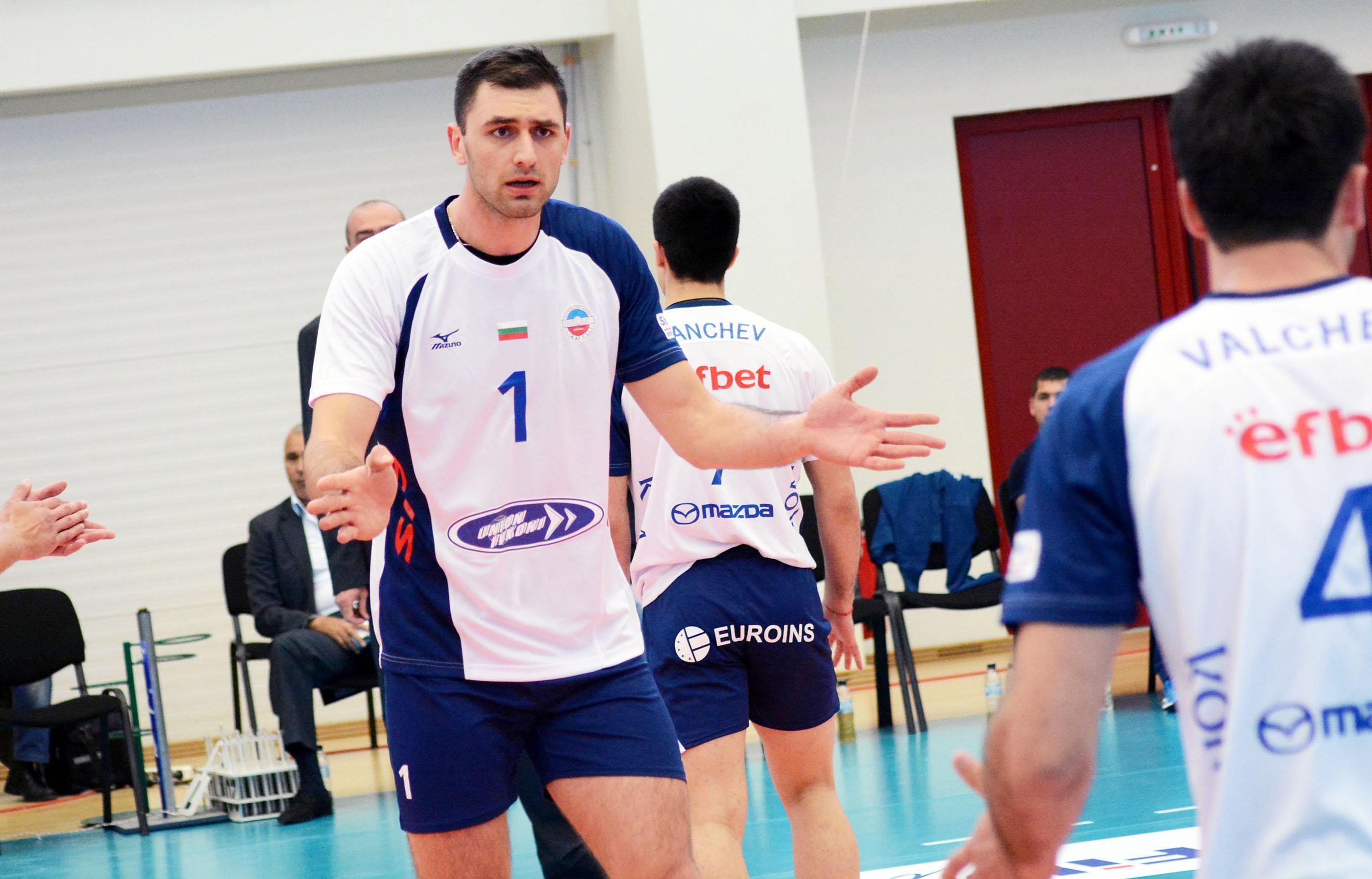 """Соколов и """"Кучине Лубе"""" се класираха на 1/2-финал"""