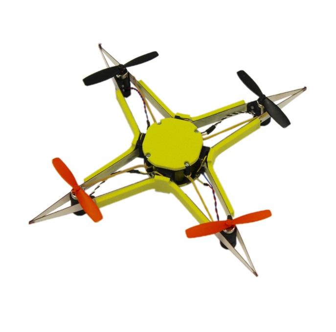 Създадоха самовъзстановяващ се дрон (видео)