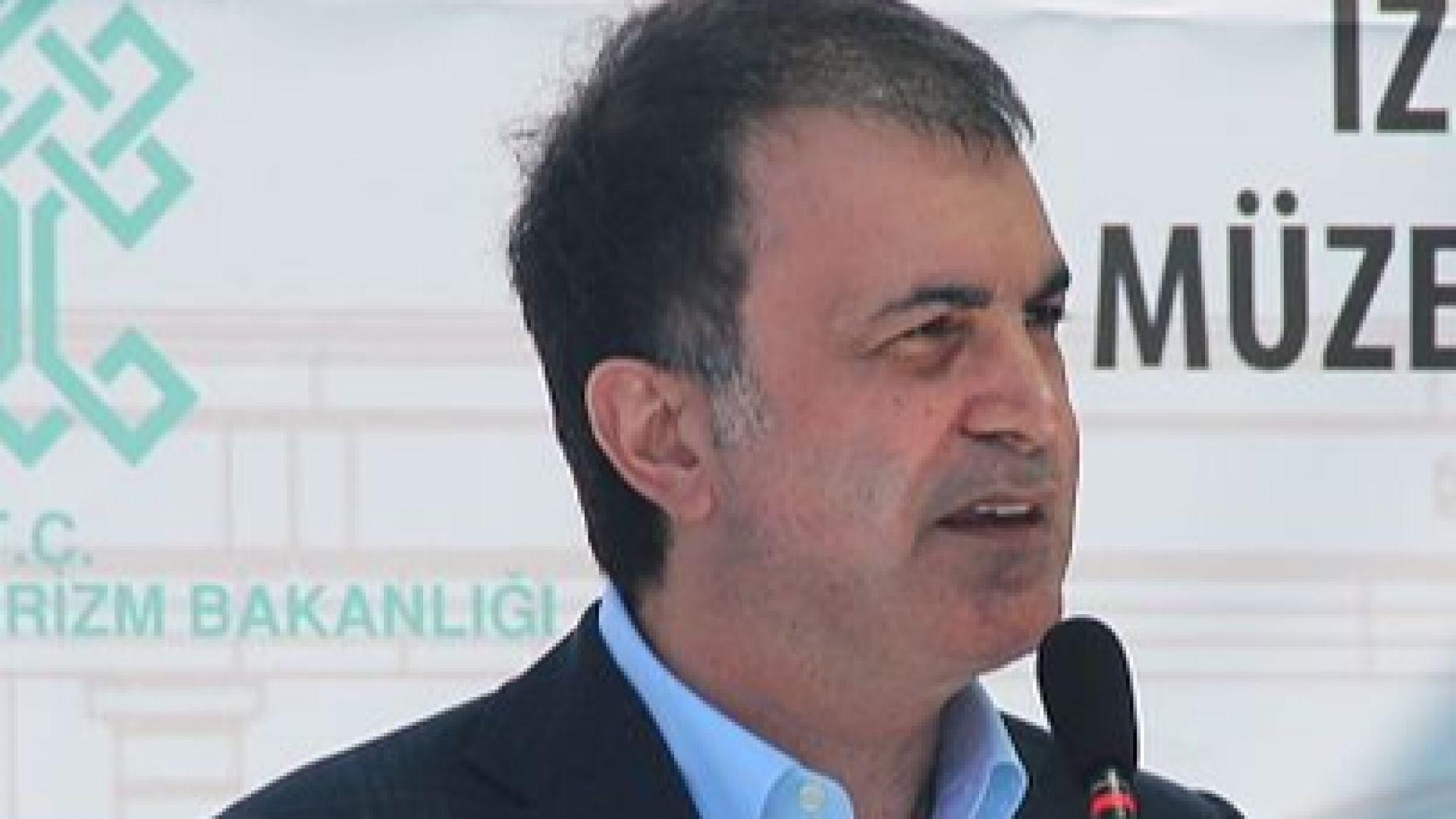 Говорителят на управляващата партия в Турция Йомер Челик определи като