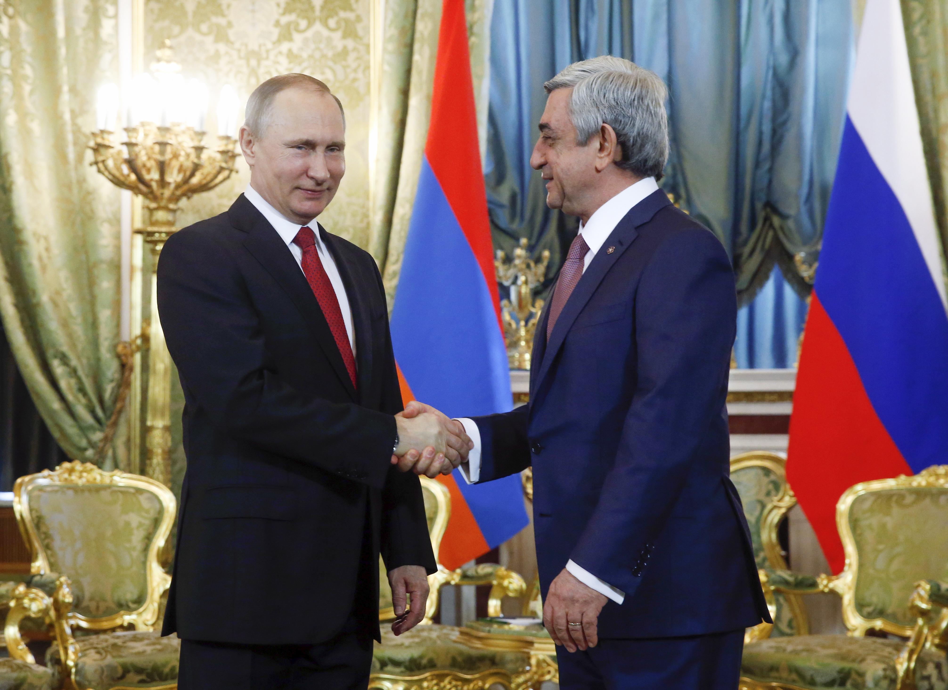 Обединена войскова групировка създават Русия и Армения