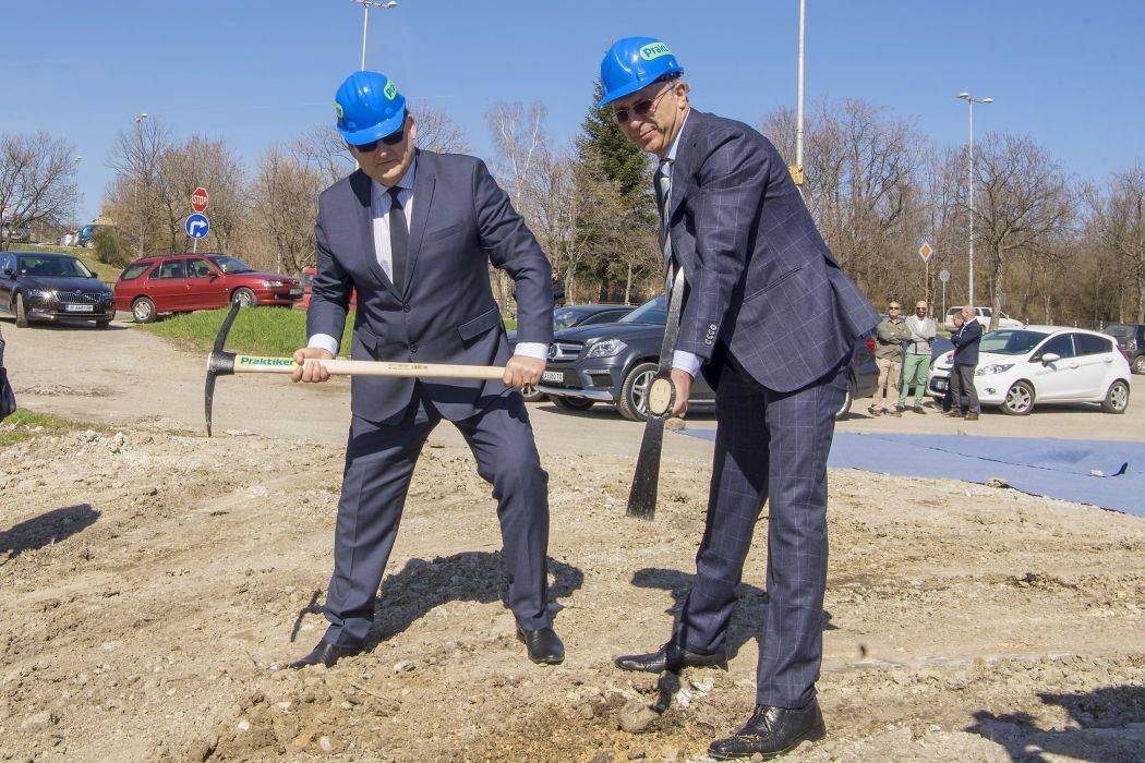 """""""Практикер"""" започва изграждането на нов хипермаркет"""